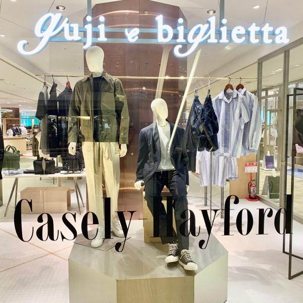 『gujiの縁側』 Casely-Hayford(ケイスリーヘイフォード)POPUPフェアー@guji大阪店&インスタライブのお知らせです!