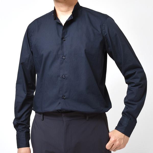 サイジングに注目です!! GUY ROVER(ギローバー)バンドカラーシャツ