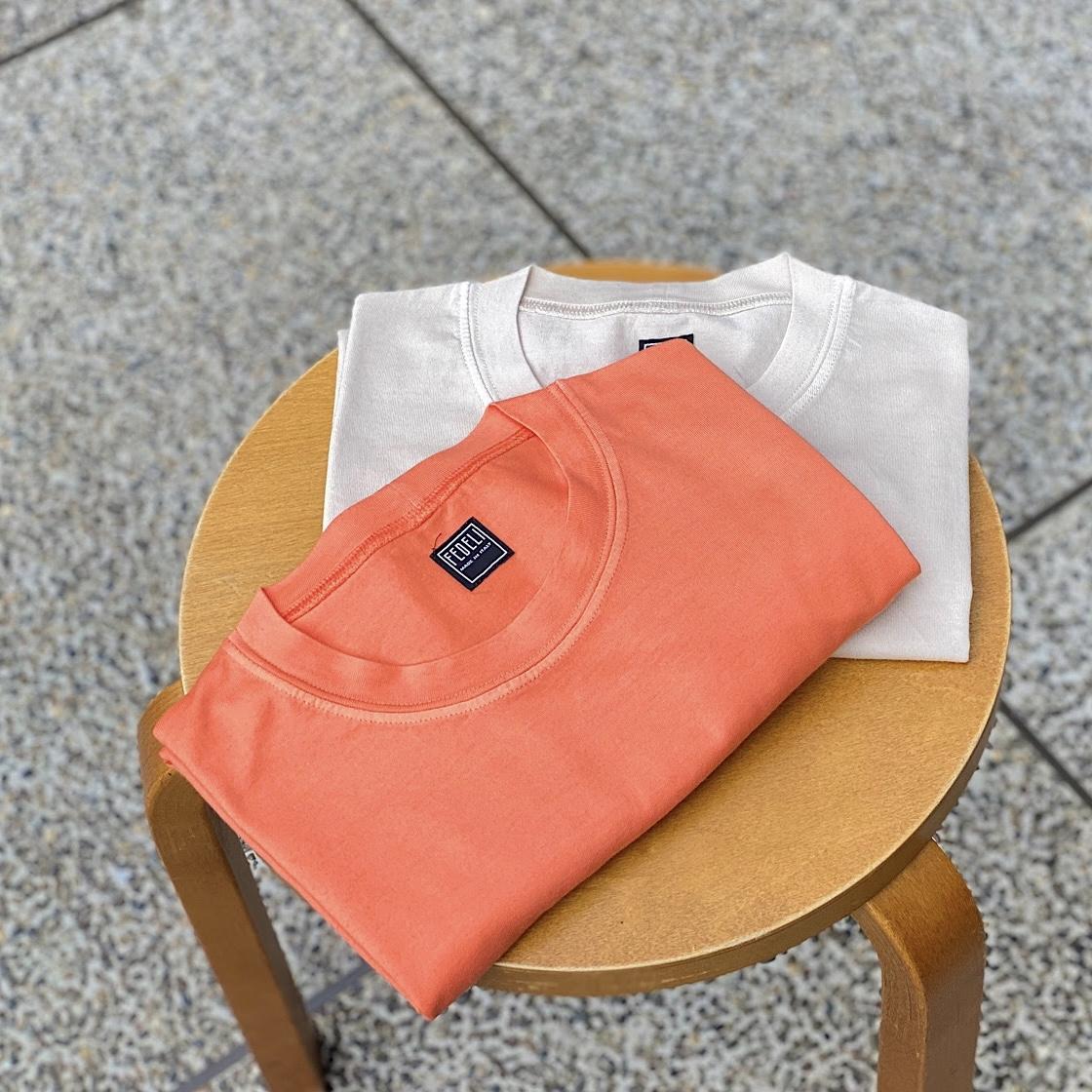 色はパワーの源!FEDELIの新色Tシャツが登場!